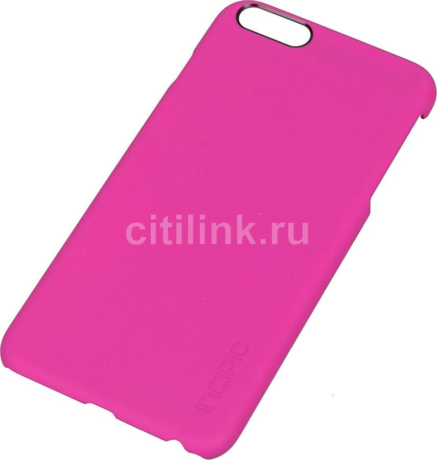 Чехол (клип-кейс) INCIPIO Feather, для Apple iPhone 6 Plus, розовый [iph-1193-pnk]