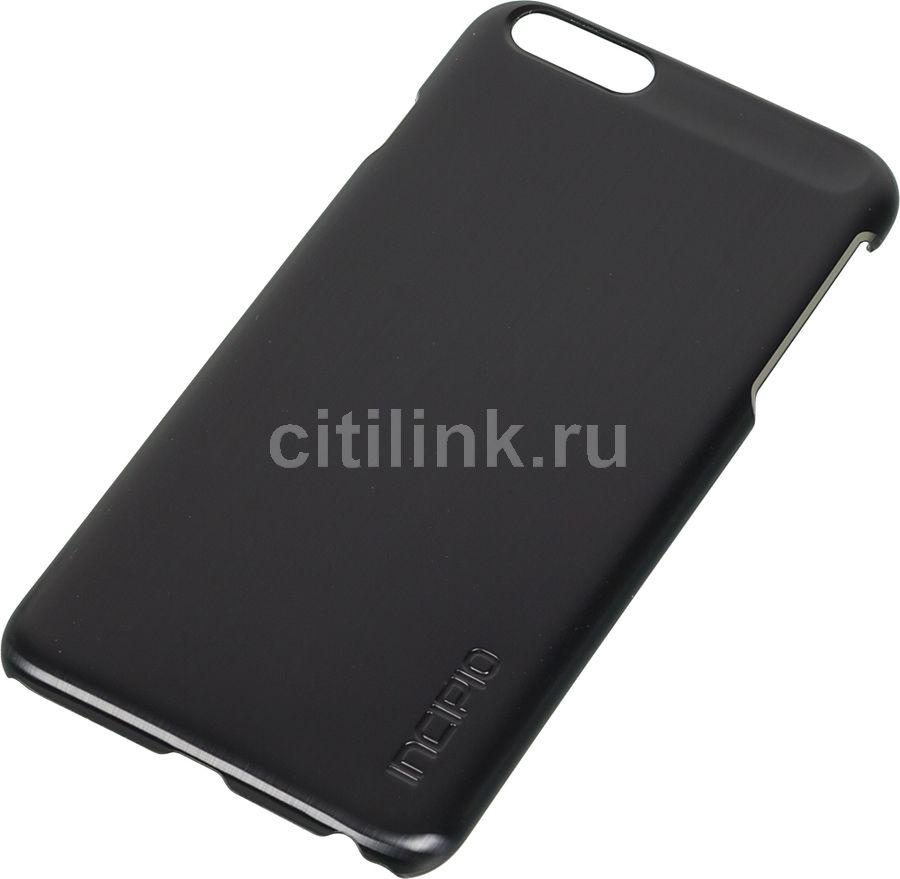 Чехол (клип-кейс) INCIPIO Feather Shine, для Apple iPhone 6 Plus, черный [iph-1194-blk]