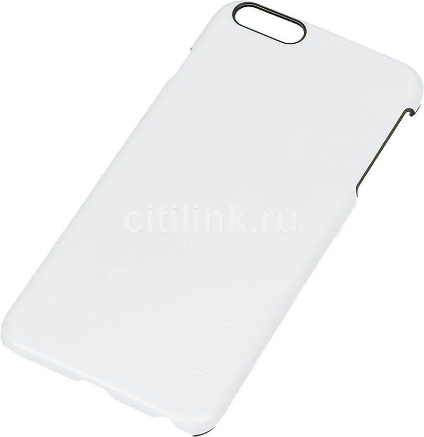 Чехол (клип-кейс) INCIPIO Feather Shine, для Apple iPhone 6 Plus, белый [iph-1194-wht]