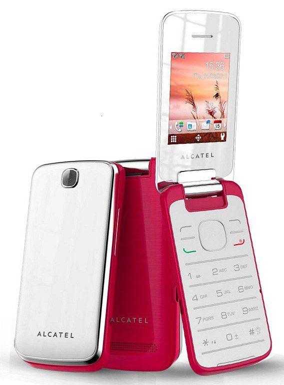 Мобильный телефон ALCATEL OneTouch 2010D  коралловый
