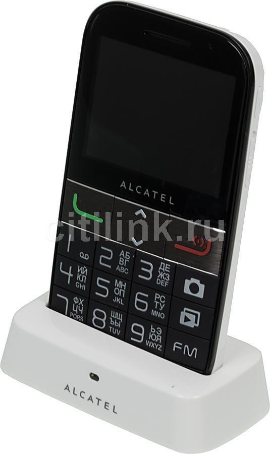 Мобильный телефон ALCATEL OneTouch 2001X  белый