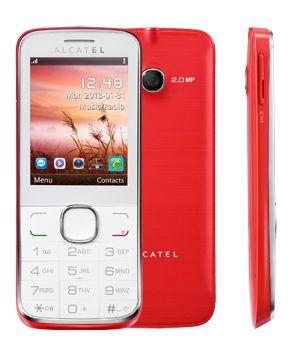 Мобильный телефон ALCATEL OT-2005D  коралловый