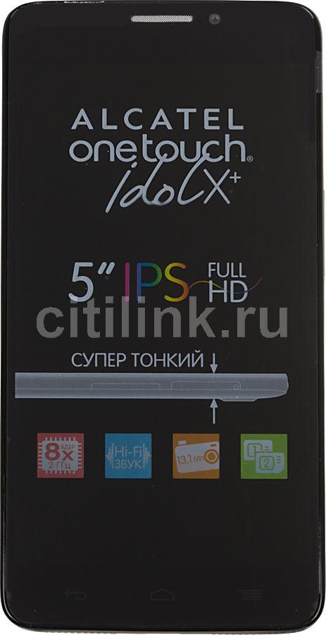Смартфон ALCATEL OneTouch Idol X+ 6043D  черный