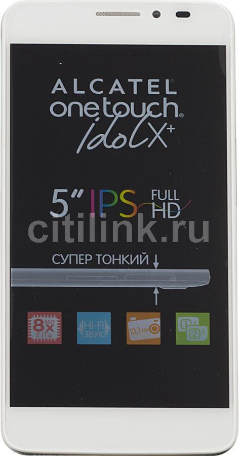 Смартфон ALCATEL OneTouch Idol X+ 6043D  белый