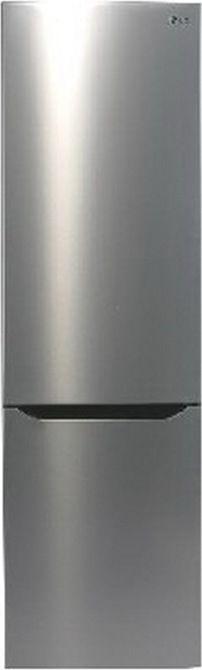Холодильник LG GW-B489SMCW,  двухкамерный,  нержавеющая сталь