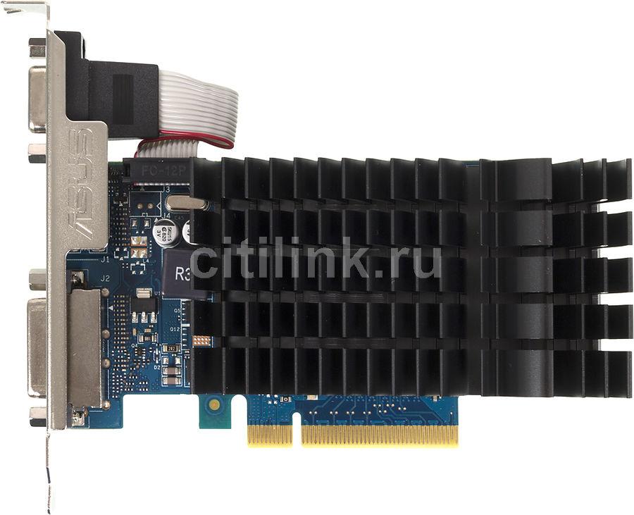 Видеокарта ASUS GeForce GT 730,  GT730-SL-1GD3-BRK,  1Гб, DDR3, Ret
