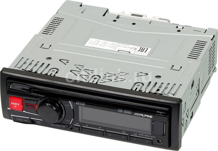 Автомагнитола ALPINE CDE-180RR,  USB