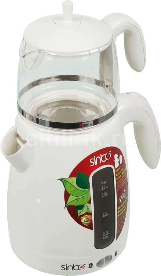 Чайный набор SINBO STM 5700, 2000Вт, белый
