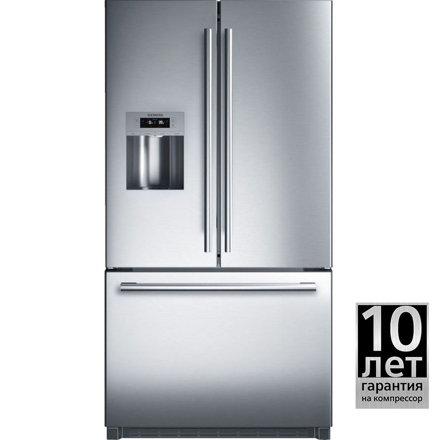 Холодильник SIEMENS KF91NPJ20R,  двухкамерный,  нержавеющая сталь