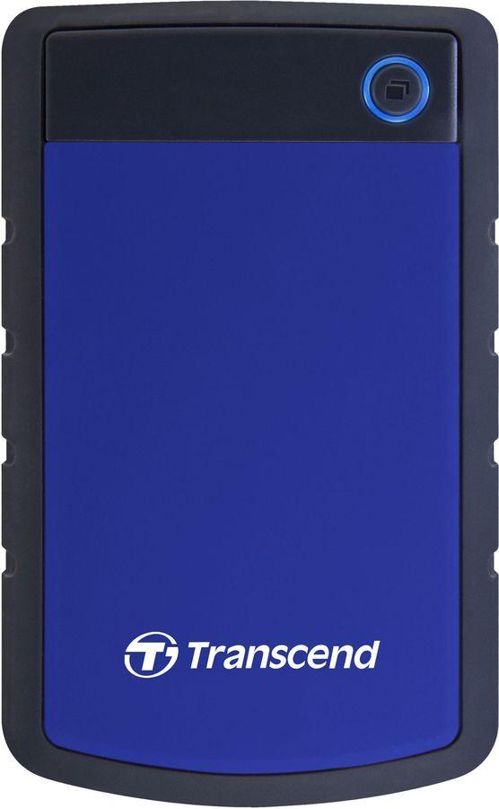 Внешний жесткий диск TRANSCEND StoreJet 25H3 TS2TSJ25H3B, 2Тб, синий