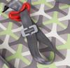 Бустер HAPPY BABY Rider, 2/3, серый/зеленый вид 5