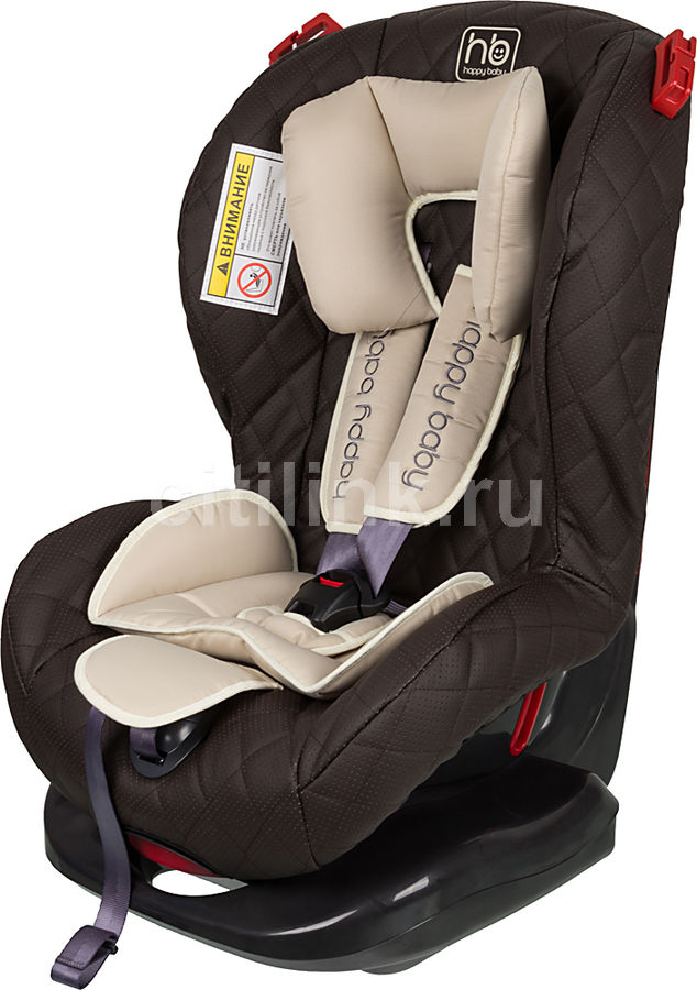 Автокресло детское HAPPY BABY Taurus Deluxe, 1/2, коричневый [4630006134957]