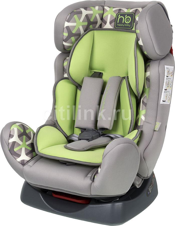 Автокресло детское HAPPY BABY Voyager, 0/1/2, серый/зеленый