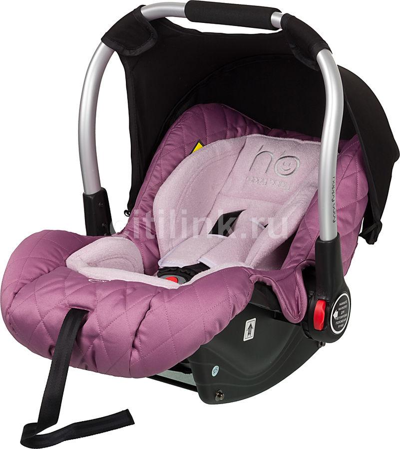 Автокресло детское HAPPY BABY Gelios, 0/0+, фиолетовый