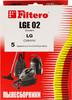 Пылесборники FILTERO LGE 02 Standard,  двухслойные,  5 шт., для пылесосов LG, CLATRONIC вид 2