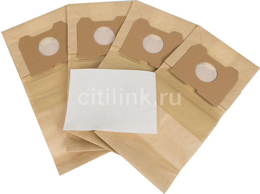 Пылесборники FILTERO PHI 02 Standard,  двухслойные,  4 шт., для пылесосов PHILIPS