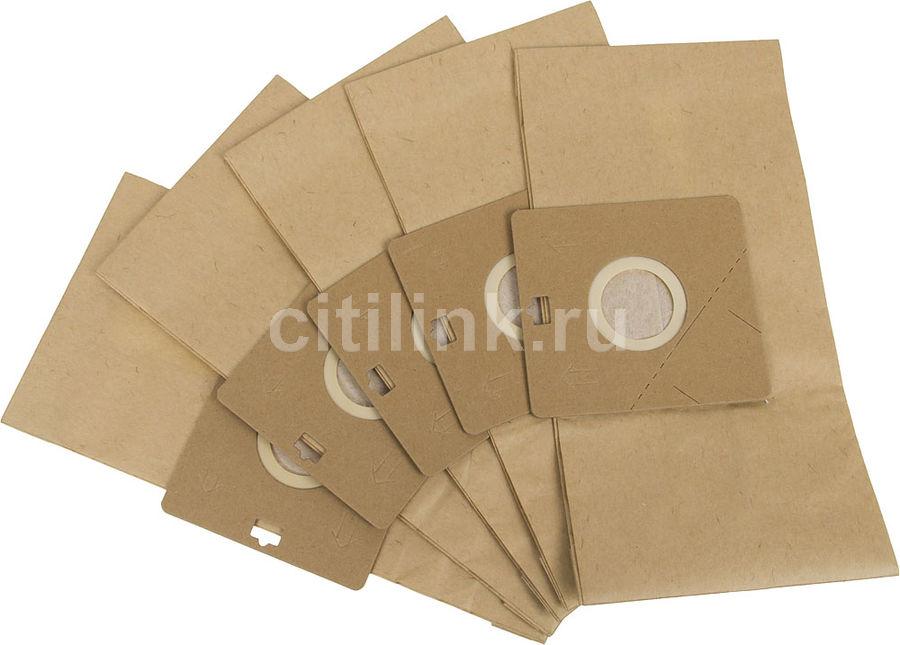 Пылесборники FILTERO SAM 01 Standard,  двухслойные,  5 шт., для пылесосов SAMSUNG, LG, HITACHI, KARCHER, VIGOR