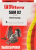 Пылесборники FILTERO SAM 02 Standard,  двухслойные,  5 шт., для пылесосов SAMSUNG, AKIRA, BIMATEK, BORK, CAMERON CVC вид 2
