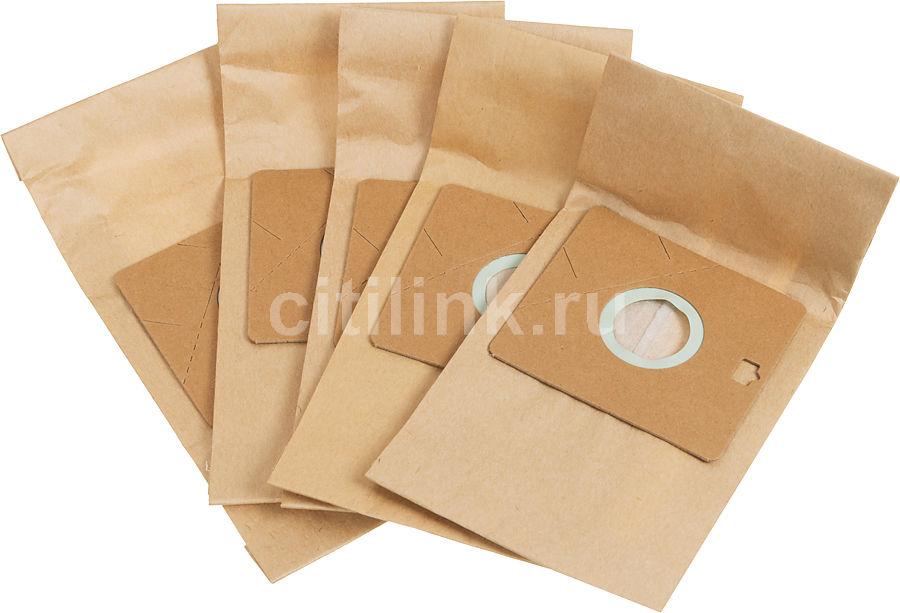 Пылесборники FILTERO SAM 02 Standard,  двухслойные,  5 шт., для пылесосов SAMSUNG, AKIRA, BIMATEK, BORK, CAMERON CVC