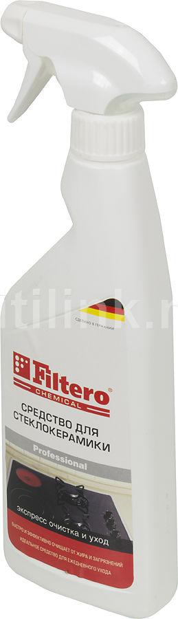 Очиститель стеклокерамики FILTERO АРТ.201,  500мл,  для бытовой техники