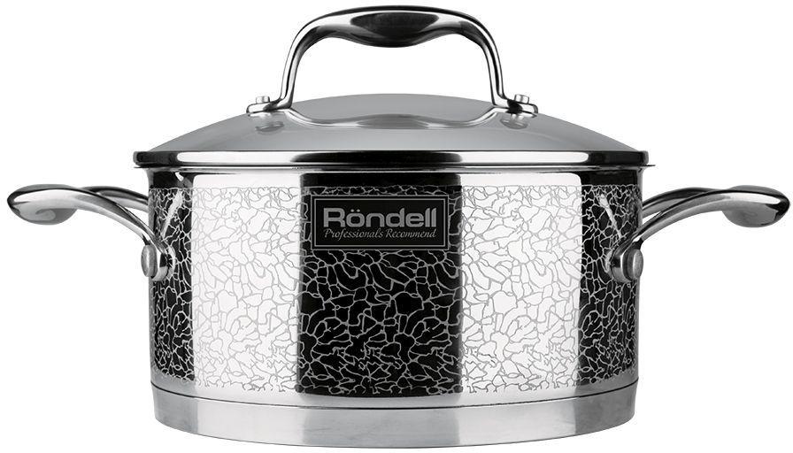 RONDELL Vintage RDA-343, 3л, с крышкой,  серебристый [rds-343]