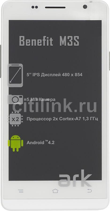 Смартфон ARK Benefit M3S белый