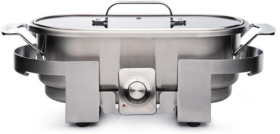 Сотейник электрический Bork G504 1500Вт 3500мл. серебристый
