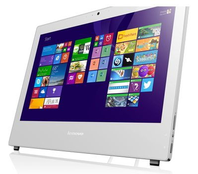 Моноблок LENOVO S40-40, Intel Celeron G1840, 4Гб, 500Гб, Intel HD Graphics, DVD-RW, Free DOS, белый [f0ax001trk]