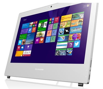Моноблок LENOVO S40-40, Intel Celeron Dual-Core G1840, 4Гб, 500Гб, DVD-RW, Windows 7 Professional, белый [f0ax002drk]