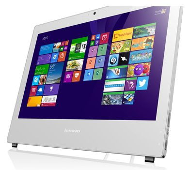 Моноблок LENOVO S40-40, Intel Pentium G3240, 4Гб, 500Гб, Intel HD Graphics, DVD-RW, Windows 7 Professional, белый [f0ax002grk]