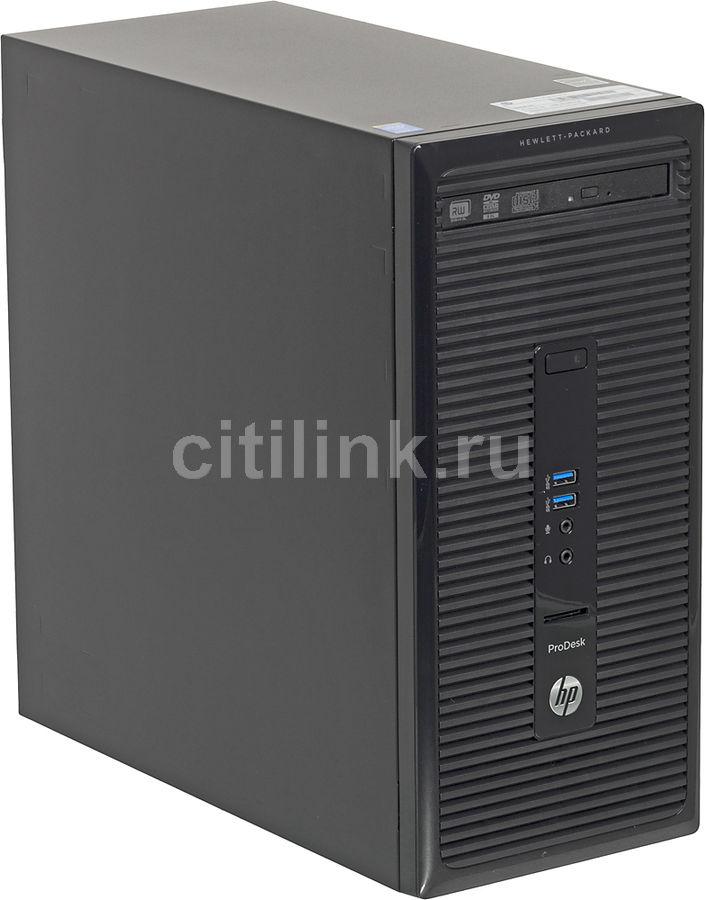 Компьютер  HP ProDesk 490 G2,  Intel  Core i7  4790,  DDR3 4Гб, 1Тб,  DVD-RW,  CR,  Windows 7 Professional,  черный [j4b04ea]