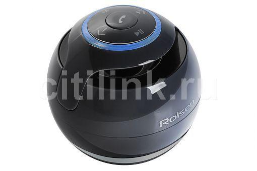 Аудиомагнитола ROLSEN RBM-611BT-BL,  черный