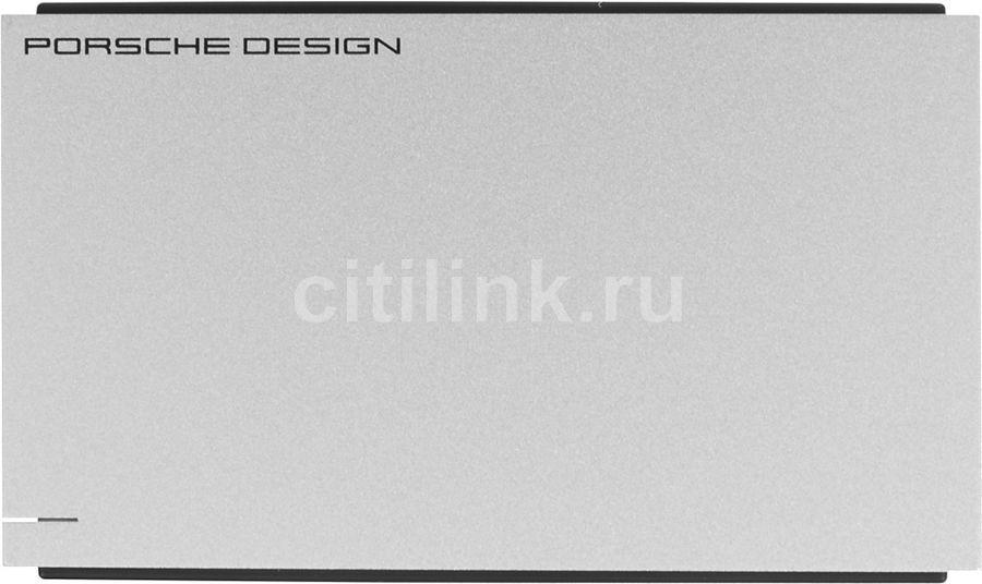 Внешний жесткий диск LACIE Porsche Design P9223, 2Тб, серебристый [lac9000461]