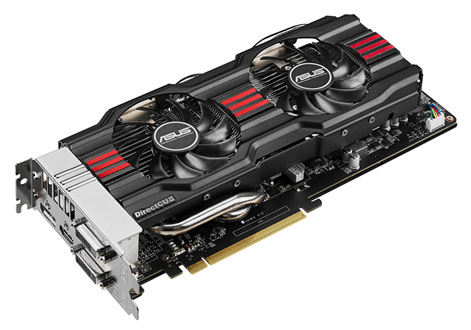 Видеокарта ASUS GeForce GTX 770,  GTX770-DC2OC-4GD5,  4Гб, GDDR5, OC,  Ret