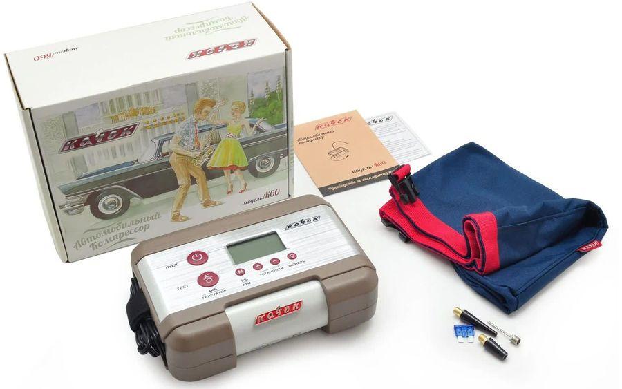 Автомобильный компрессор КАЧОК K60 [к60]