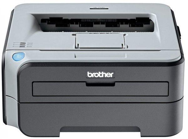 Принтер BROTHER HL-2140R лазерный, цвет:  белый [hl2140r1]