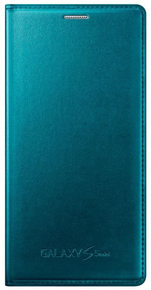 Чехол (флип-кейс) SAMSUNG EF-FG800BGEGRU, для Samsung Galaxy S5 mini, зеленый