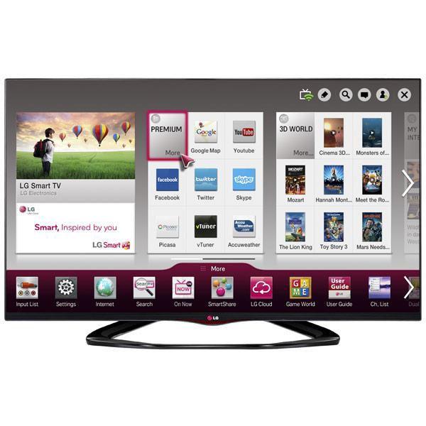 LED телевизор LG 55LA662V