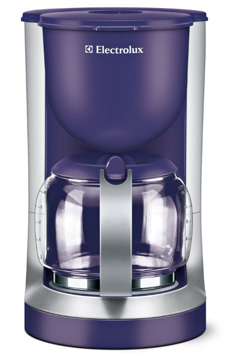 Кофеварка ELECTROLUX EKF 3130 PU,  капельная,  фиолетовый [ekf3130pu]