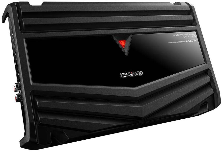Усилитель автомобильный KENWOOD KAC-7406,  черный