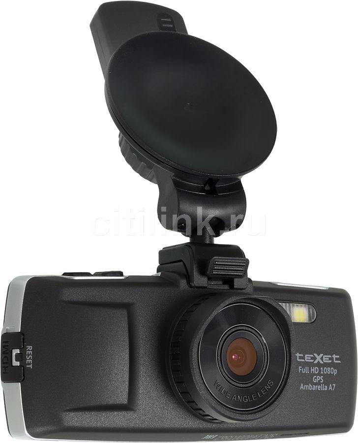 Видеорегистратор TEXET DVR-5GS черный