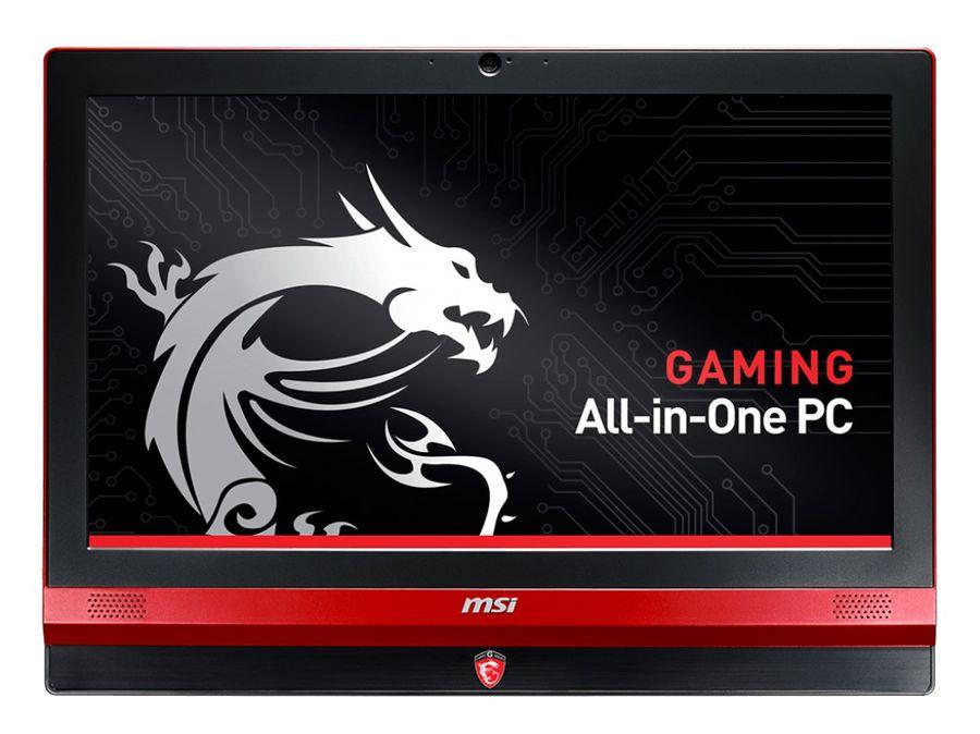 Моноблок MSI AG240 2PE-020, Intel Core i5 4210H, 8Гб, 1000Гб, nVIDIA GeForce GTX 860M - 2048 Мб, DVD-RW, Windows 8.1, черный и красный [9s6-ae6711-020]