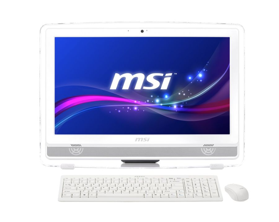 Моноблок MSI AE220-044RU, AMD E2 3800, 4Гб, 500Гб, AMD Radeon HD 8280, DVD-RW, Windows 8.1, белый [9s6-ac1512-044]