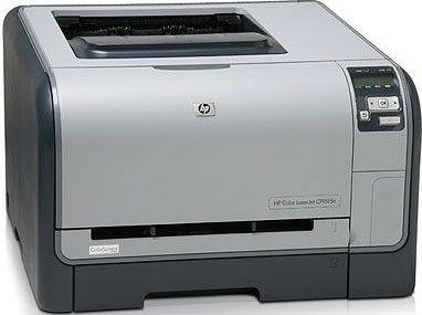 Принтер HP LaserJet CP1515N лазерный, цвет:  белый [cc377a]