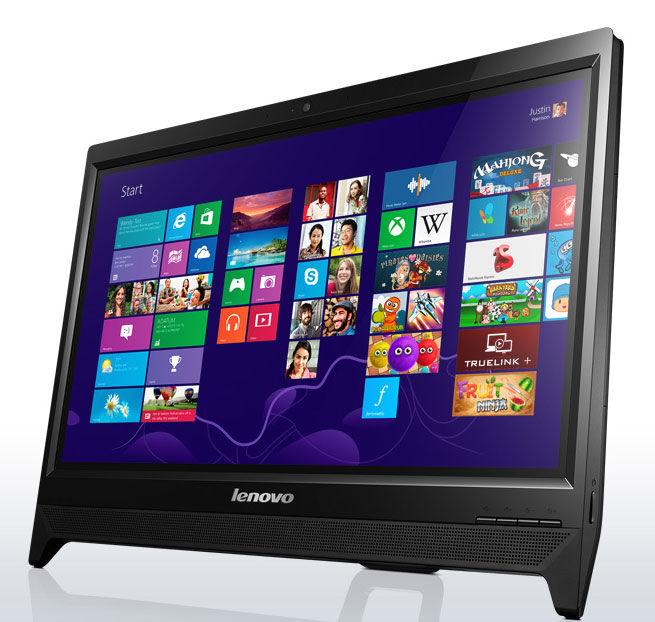 Моноблок LENOVO C260, Intel Celeron J1800, 4Гб, 500Гб, Intel HD Graphics, DVD-RW, Free DOS, черный [57330730]