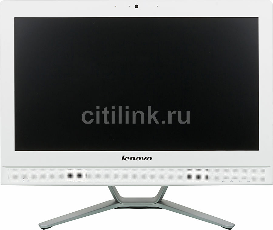 Моноблок LENOVO C360, Intel Pentium G3250T, 4Гб, 500Гб, Intel HD Graphics, DVD-RW, Free DOS, белый и серебристый [57330773]