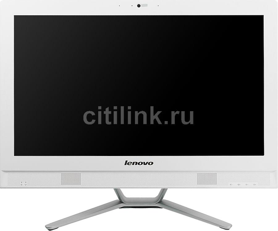 Моноблок LENOVO C470, Intel Core i3 4005U, 4Гб, 1000Гб, Intel HD Graphics 4400, DVD-RW, Windows 8.1, белый и серебристый [57330992]