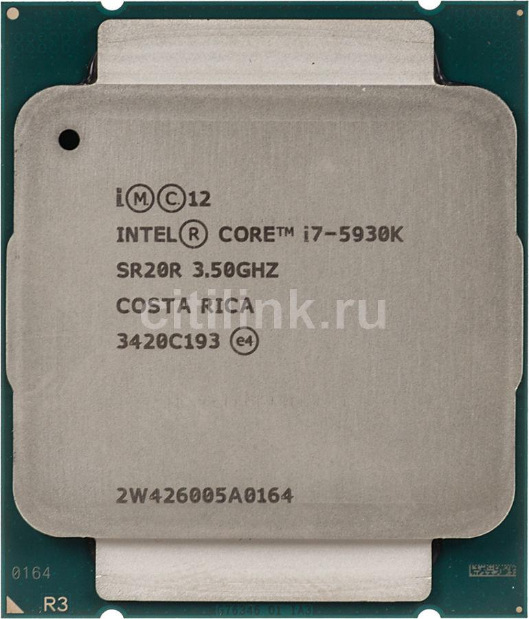 Процессор INTEL Core i7 5930K, LGA 2011-v3 * OEM [cm8064801548338s r20r]