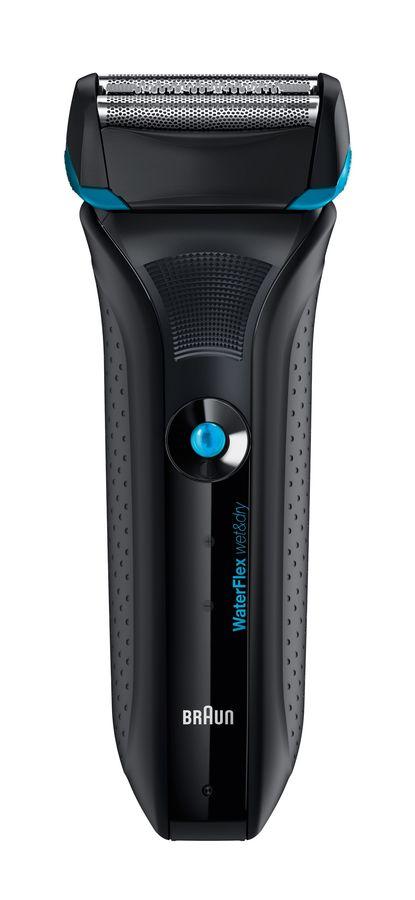 Электробритва BRAUN WaterFlex WF2S,  черный и черный