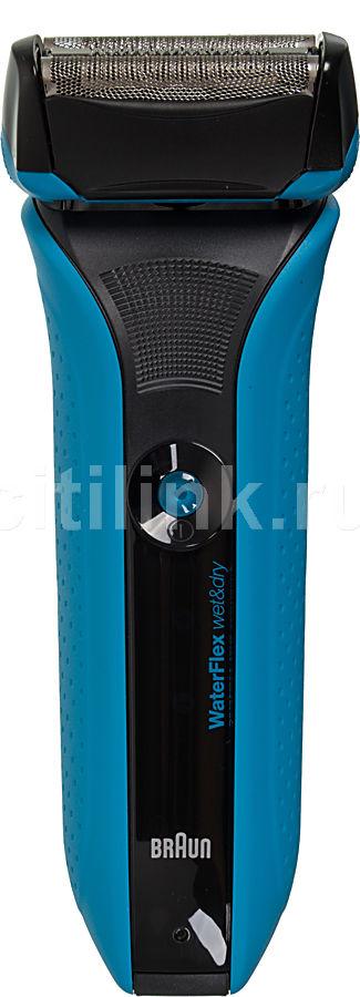 Электробритва BRAUN WaterFlex WF2S,  синий и черный
